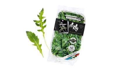 Flowpack de roquette avec feuilles de roquette du Potager de Jade